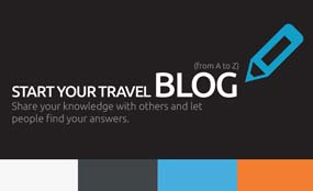 Start your travel blog