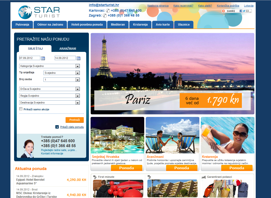 Travel Agency Website >> Star Turist Travel Website Gets A Makeover Lemax