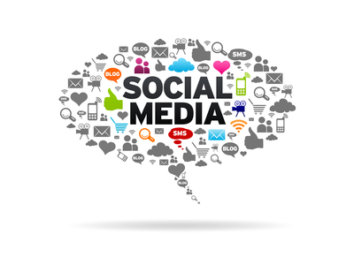 Social Media supports sale