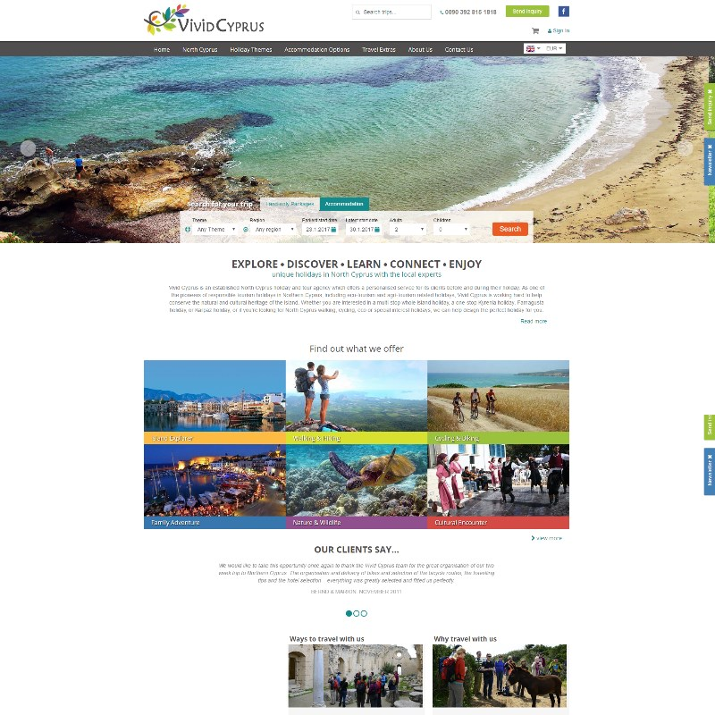 Vivid Cyprus